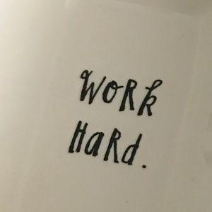 Rae Dunn Dining - 🎈🎈 Rae Dunn 'Work Hard.' / 'Play Harder.' Tray